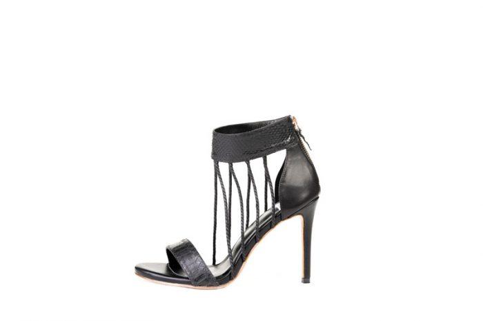 Leumas Light Black Sandal
